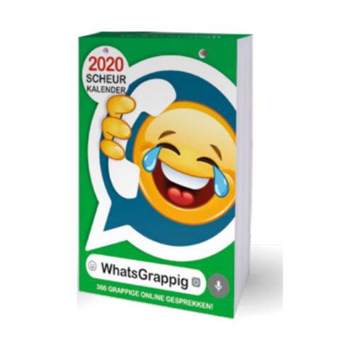 Interstat Interstat - Mini-scheurkalender - WhatsGrappig - 2020