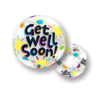 Qualatex Qualatex - Folieballon - Bubble - Get Well Soon - Zonder vulling - 56cm