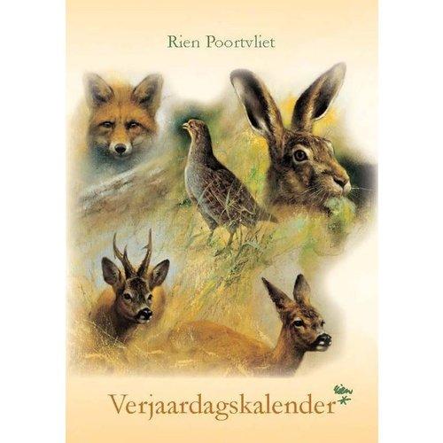 Comello Verjaardagskalender - Rien Poortvliet - Natuur