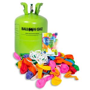 Folat Folat - Balloongaz - Helium tank met 50 ballonnen en lint