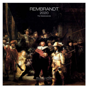 Comello Comello - Maandkalender - Rembrandt - 2020