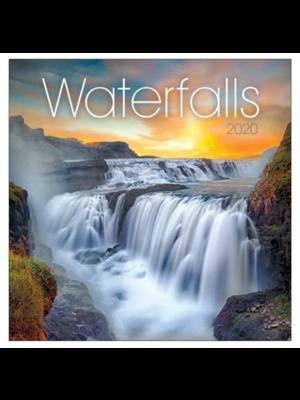 Comello Maandkalender - Waterfalls - 2020