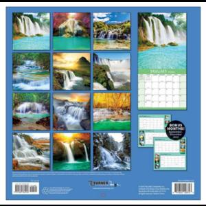 Comello Comello - Maandkalender - Waterfalls - 2020