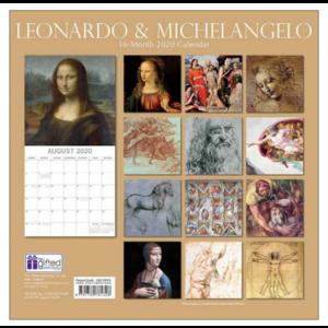 Comello Comello - Maandkalender - Leonardo & Michelangelo
