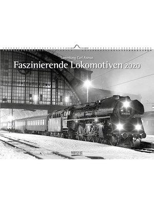 Comello Maandkalender - Lokomotieven - 42 x 30