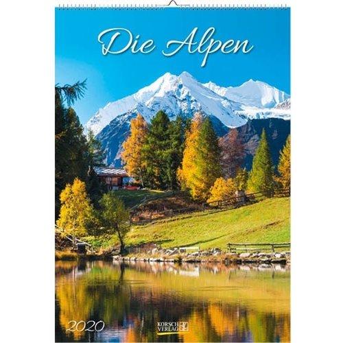 Comello Comello - Maandkalender - Alpen - 23 x 33