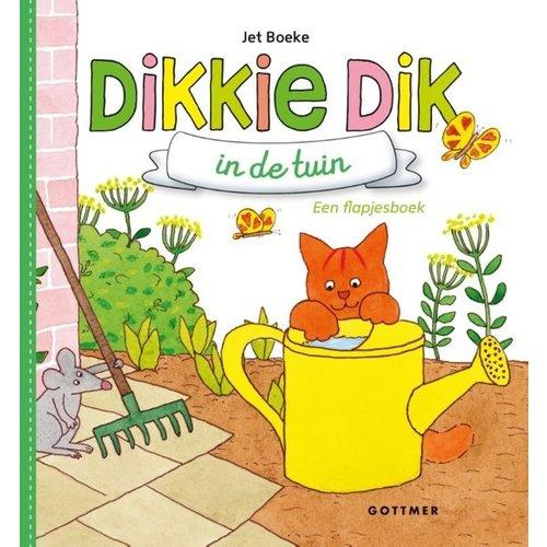 Gottmer Gottmer - Boek - Flapjesboek - Dikkie Dik in de tuin