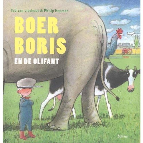 Gottmer Boek - Prentenboek - Boer Boris en de olifant