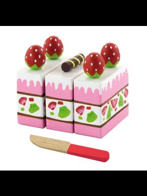 Vigatoys Speelgoedeten - Aardbeientaart