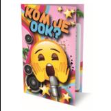 Uitnodigingskaarten - Emoji - Kom je ook - 6st.