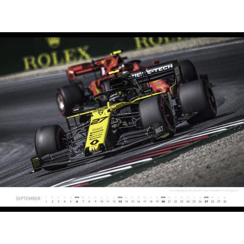 Comello - Jaarkalender - Formule 1 - 475 x 330 mm