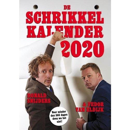 Comello - Scheurkalender - Schrikkelkalender - 2020