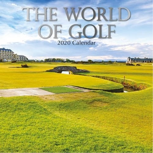 Comello Maandkalender - The world of golf - 2020 - 30x30