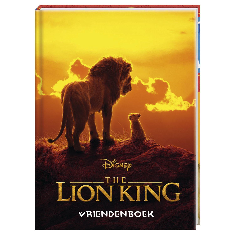 Boek - Vriendenboekje - The Lion King