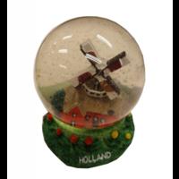 EH - Souvenir - Sneeuwbol - Huismolen - 8cm
