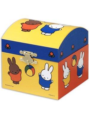 Bambolino Toys Sieraden- & muziekdoos - Nijntje speelt met de bal