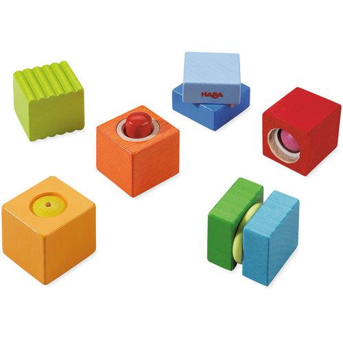 Haba Haba - Blokken - Ontdekkingsstenen - Spelen met geluiden