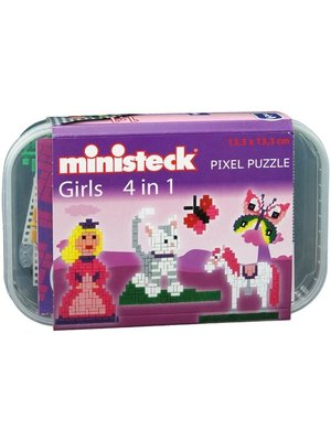 Ministeck - Girls - 4 in 1 - 510dlg.