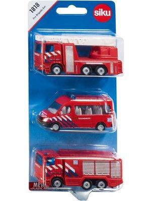 Siku Brandweer set - Nederland - 3dlg. - Siku