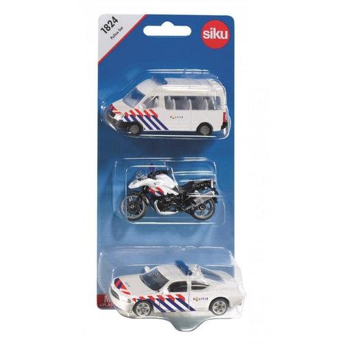 Siku Politie set - Nederland - 3dlg. - Siku