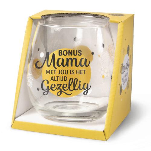 Miko Glas - Water- & wijnglas - Bonus mama