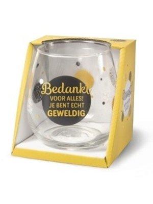 Miko Glas - Water- & wijnglas - Bedankt