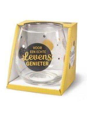 Miko Glas - Water- & wijnglas - Levensgenieter