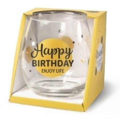 Miko Glas - Water- & wijnglas - Happy birthday