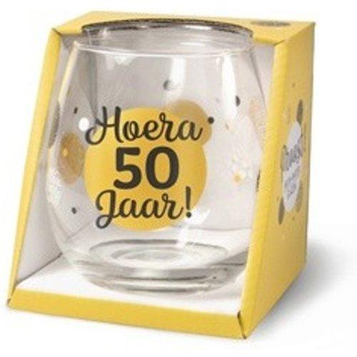 Miko Glas - Water- & wijnglas - 50 Jaar