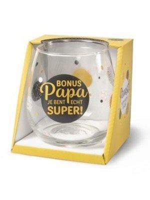 Miko Glas - Water- & wijnglas - Bonus papa
