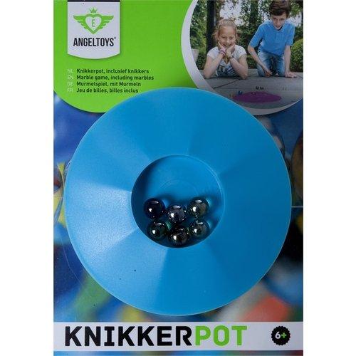 Angeltoys - Knikkerpot - Incl. 6 knikkers - 17cm