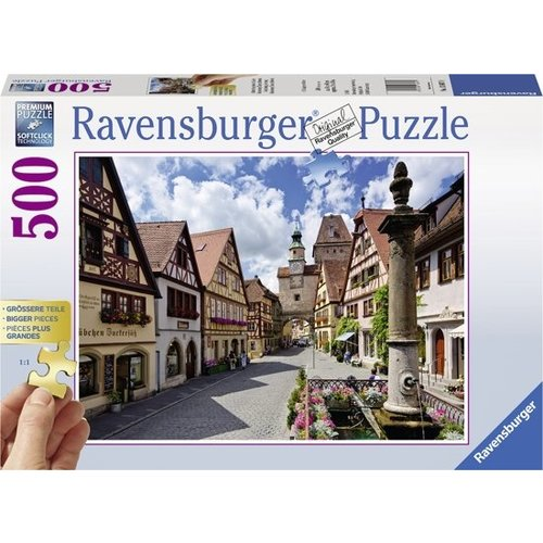 Ravensburger Ravensburger - Puzzel - Extra groot - Rothenburg, Duitsland - 500st.