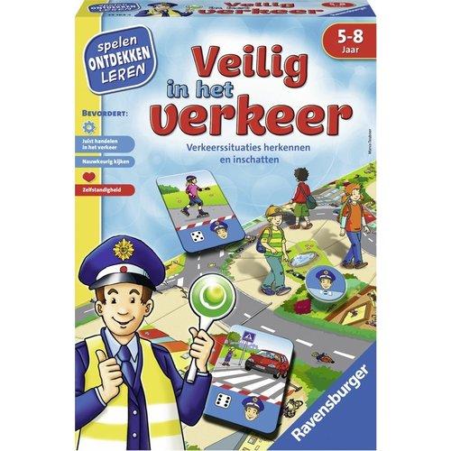 Ravensburger Leerspel - Veilig in het verkeer - 5+