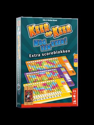999 Games - Keer op keer - Nog een keer - Scoreblok - 8+