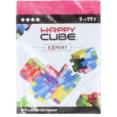 Happy Cube Brain teaser - Expert - Roze - 9+