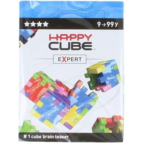 Happy Cube Brain teaser - Expert - Blauw - 9+