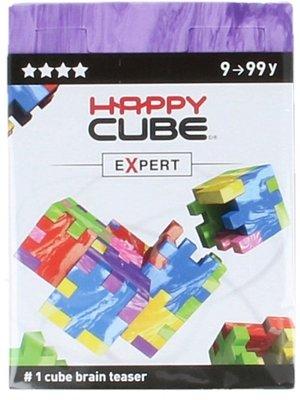 Happy Cube Happy Cube - Brain teaser - Expert - Paars - 9+