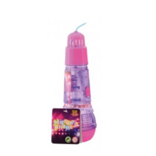 Witbaard Microfoon - Echo - Plastic - Met licht