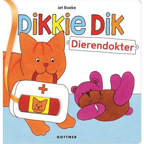 Gottmer Boek - Kartonboek - Dikkie Dik - Dierendokter
