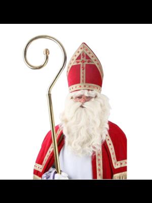 PartyXplosion PartyXplosion - Pruik & baard - Sinterklaas - Met kinzak