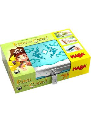 Haba Haba - Spel - Find the code - Pirateneiland - Met Nederlandse handleiding