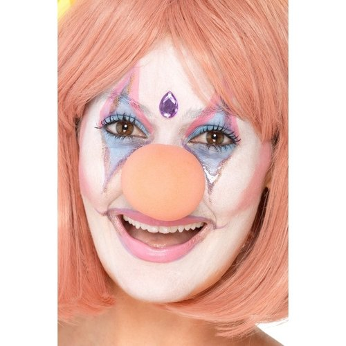 Smiffys Smiffys - Clownsneus - Schuim - Roze