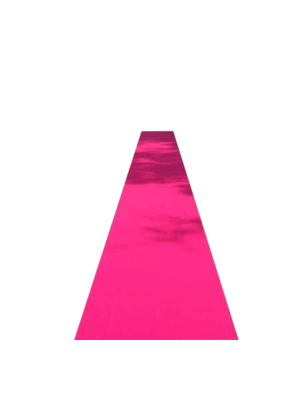 Folat Folat - Roze loper - 4,5m x 50cm