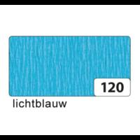 Folia - Crêpepapier - Licht blauw - 250x50cm