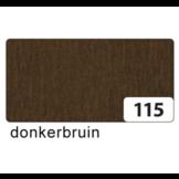 Crecircpepapier - Chocolade bruin - 250x50cm