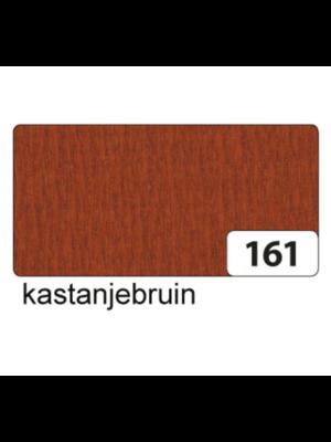 Folia Crêpepapier - Kastanje bruin - 250x50cm