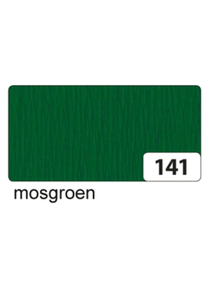 Folia Crêpepapier - Mos groen - 250x50cm