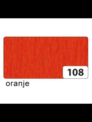 Folia Crêpepapier - Donker oranje - 250x50cm