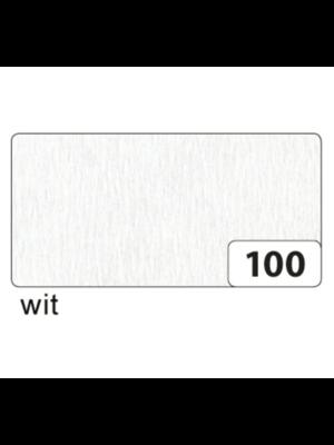 Folia Crêpepapier - Wit - 250x50cm