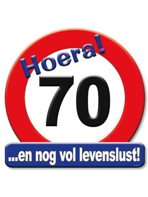 Paperdreams Huldebord - 70 Jaar